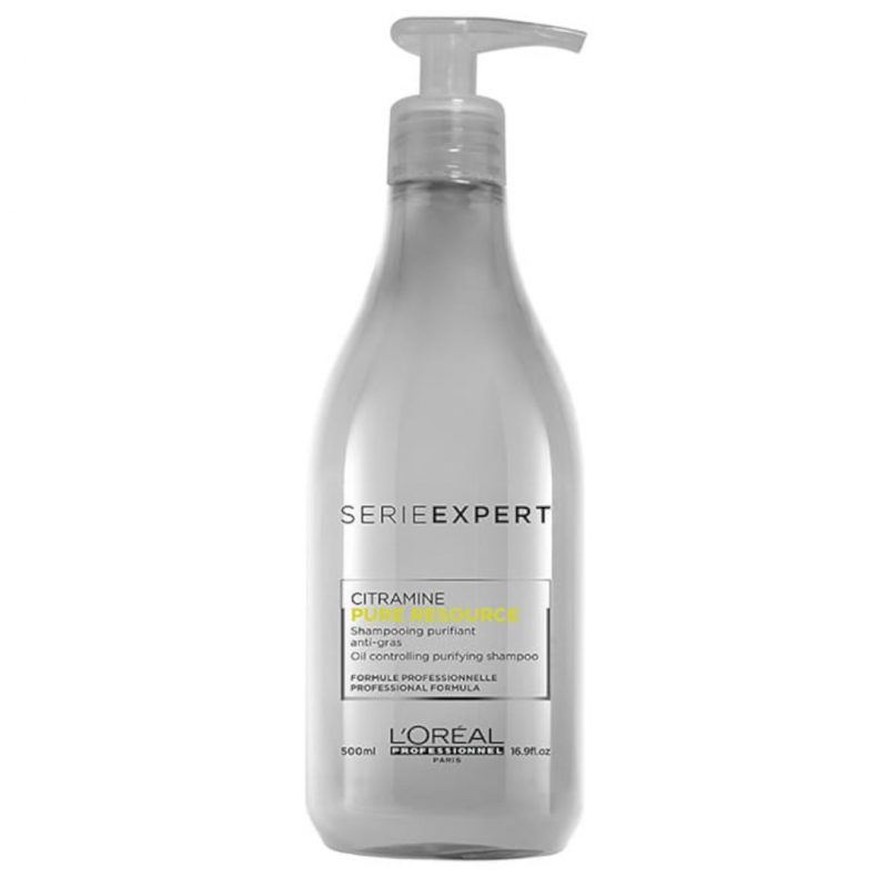 Loreal professionnel série expert pure resource shampoo oily scalp 500ml