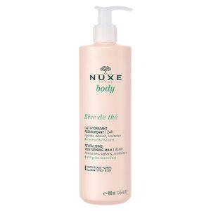 Nuxe rêve de thé revitalising and moisturising milk 400ml