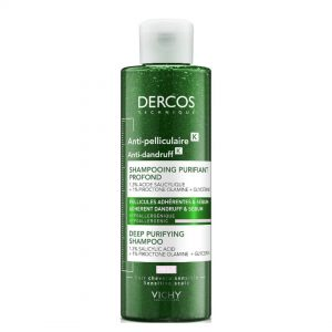 Vichy dercos k intensive dandruff purifying shampoo 250ml