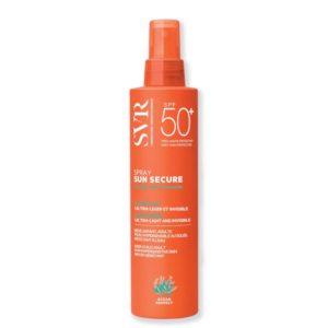 Svr sun secure spray spf50 biodegradable milk 200ml