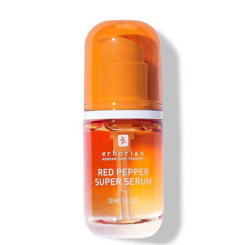 Erborian red pepper super serum glow and exfoliating care 30ml