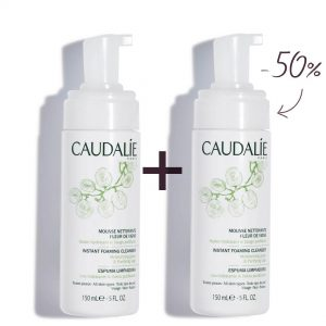 Caudalie duo instant foaming cleansers 2x150ml